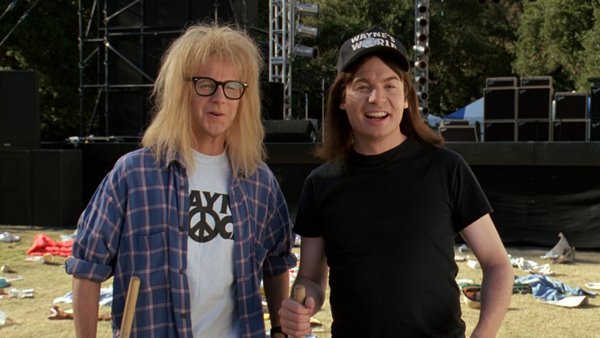 ... WAYNE'S WORLD REUNION on SNL. If you weren't a teenager or young adult ...