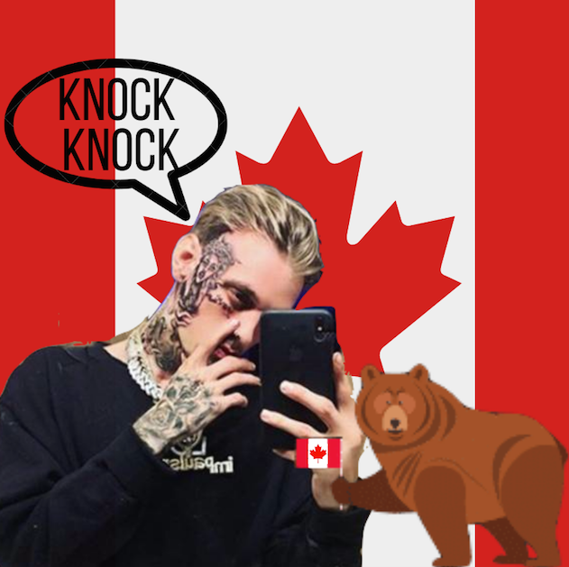 Aaron Carter has Officially Moved to Canada